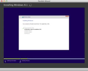 Paralles VM Installation
